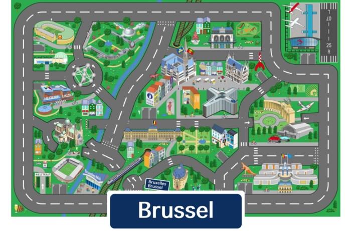 Brussel krijgt eigen speelkleed
