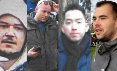 Politie verspreidt beelden van voortvluchtige Nederlandse relschoppers