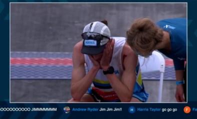 Loper komt uitgeput en bebloed over finish na 100 (!) kilometer, maar mist onwaarschijnlijk wereldrecord op haar na