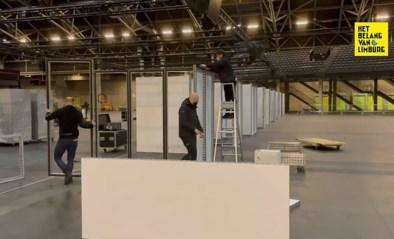Grootste Limburgs vaccinatiecentrum: 2.000 mensen per dag ingeënt in Ethias Arena