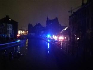 Gedeelte van Gent in het donker na brand in hoogspanningscabine
