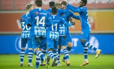 AA Gent kan twaalfde nederlaag van het seizoen maar nipt vermijden na doelpunt in allerlaatste seconde tegen STVV
