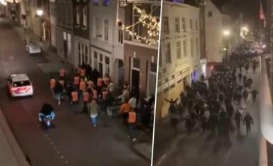Voetbalfans vormen front tegen relschoppers in Nederland: