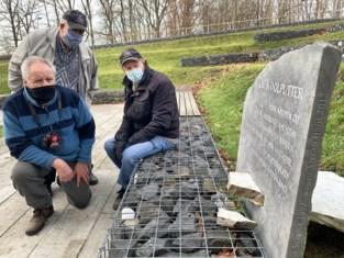 """Monument voor overleden mijnwerkers tweede keer in een week vernield: """"Dit doet pijn"""""""