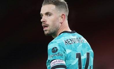Liverpool kan bij Tottenham opnieuw op kapitein Henderson rekenen