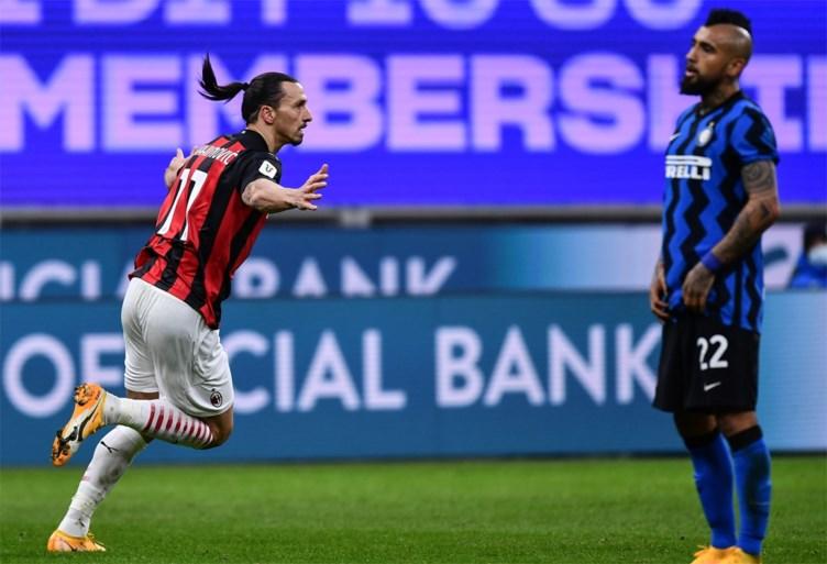 Ooit ploegmaats, nu duidelijk geen vrienden meer: Zlatan Ibrahimovic en Romelu Lukaku maken klinkende ruzie in zinderende stadsderby
