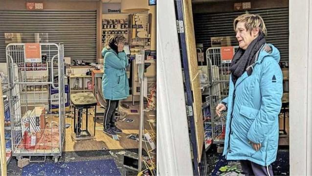 Al 100.000 euro ingezameld voor winkelier nadat relschoppers haar winkel vernielden