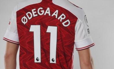 Arsenal huurt Martin Ødegaard tot het einde van het seizoen van Real Madrid