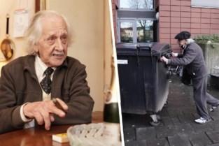 """'Chef-poubellier' Hubert (99) is de oudste conciërge van het land: """"Ik wil mijn bompa kloppen, die werd 103"""""""