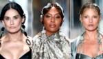 Demi Moore, Kate Moss en Naomi Campbell: Fendi verzamelt sterren op de catwalk