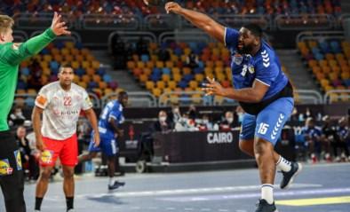 """WK handbal moet verder zonder """"El Gigante"""", de Congolese reus die zelfs complimenten krijgt van Shaquille O'Neal"""