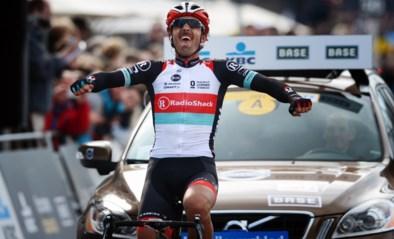 Fabian Cancellara trekt zijn koerspakje nog eens aan voor strijd tegen kanker