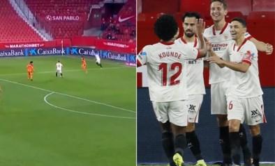 Één minuut, elf spelers en 37 (!) onafgebroken passes: Sevilla scoort memorabel doelpunt in de Spaanse beker