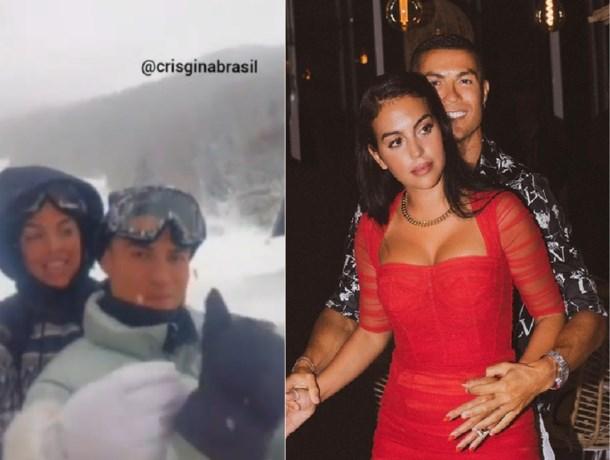 Cristiano Ronaldo werkt zich in nesten door verboden luxereis met jarige vrouw Georgina