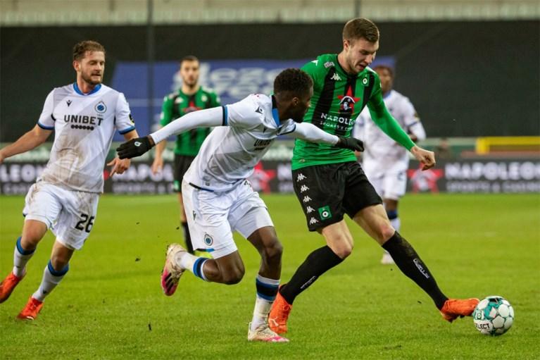 Lang doet het licht uit: moedig Cercle verliest derby tegen zakelijk Club (1-2), waar ook Mechele alweer scoort