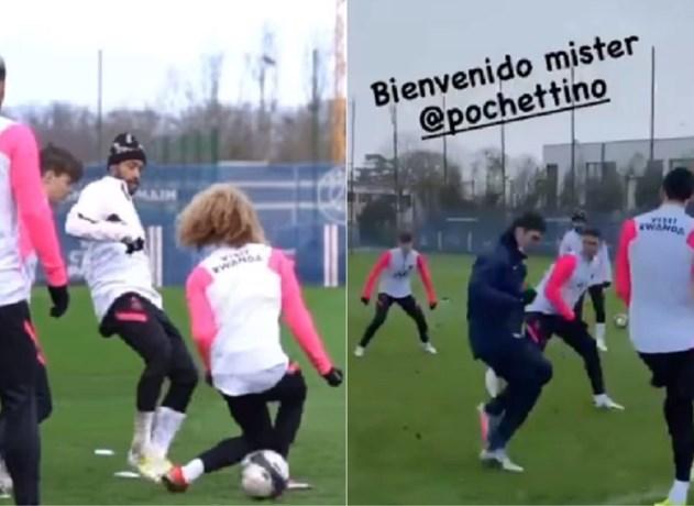 Nieuwe PSG-trainer Pochettino gaat op z'n gezicht, ook jong Nederlands toptalent slachtoffer van heerlijk poortje