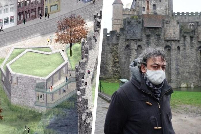 """Protest tegen nieuwe uitbouw Gravensteen zwelt aan: """"Dit doet mijn tenen krullen"""""""