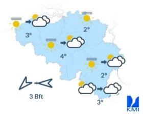 Zondag start zonnig (maar koud!)