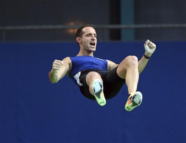 Polsstokspringer Renaud Lavillenie voor het eerst in vijf jaar over de 6 meter