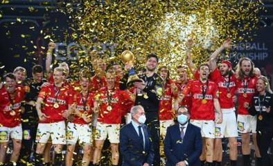Deense handballers verlengen wereldtitel in thriller tegen Zweden