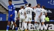 Leicester City in eigen huis onderuit tegen Leeds, Timothy Castagne valt geblesseerd uit