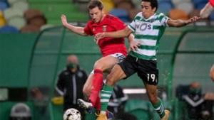 Benfica en Jan Vertonghen verliezen in extremis derby tegen Sporting