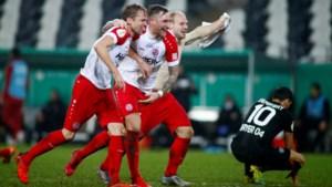 Bayer Leverkusen uitgeschakeld door vierdeklasser in Duitse beker