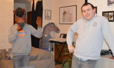 Stripheld Goliath komt tot leven in kortfilms en clips: half mens, half paard is stokpaardje van Arno