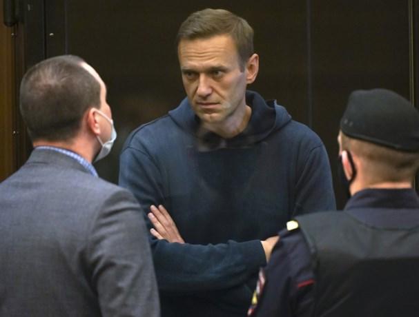 Russische opposant Alexej Navalny veroordeeld tot 3,5 jaar cel