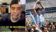 """Vermoedelijk laatste videobeelden van Diego Maradona duiken op: """"Als ik onder goeie mensen ben, kom ik uit mijn hol"""""""
