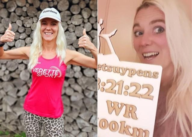 """Wist u al dat het wereldrecord 100km op een loopband in handen is van een Belgische? """"Ik voel me de rijkste vrouw ter wereld"""""""