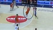 Een vliegende Belgian Lion: Sam Van Rossom haalt de Michael Jordan in zich naar boven in Euroleague basketbal