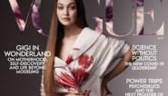 """Gigi Hadid tien weken na haar bevalling opnieuw covermodel: """"Ik had niet door dat mijn dochter geboren was"""""""