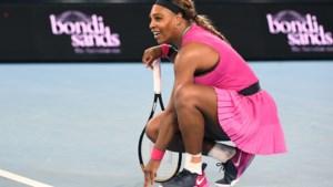 Haalt ze de Australian Open? Serena Williams laat halve finale schieten door blessure