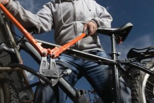 Dieven azen op fietsen  in Heikant en Grotstraat