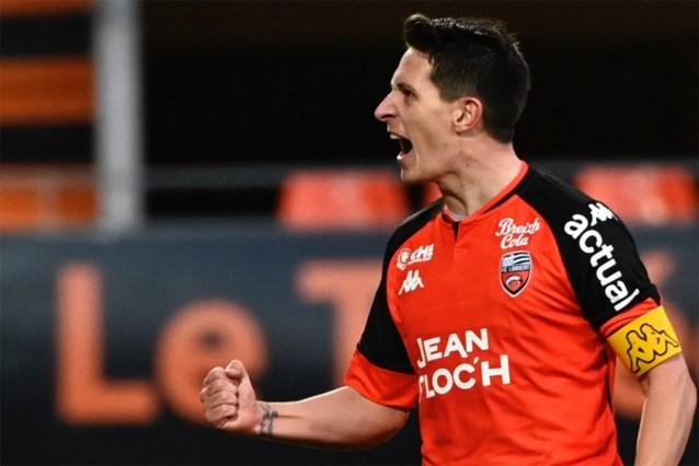 Reims-Belgen gaan onderuit bij Lorient, Doku en Rennes blijven op scoreloze draw steken bij Lens