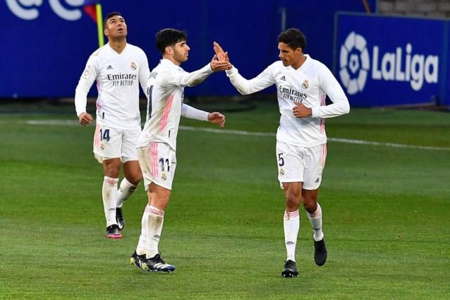 Real Madrid komt met de schrik vrij tegen rode lantaarn: verdediger is held van de dag met twee goals