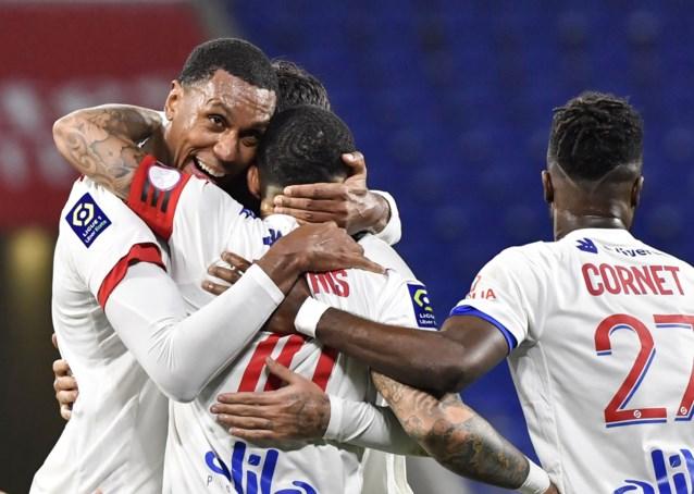 Memphis Depay helpt Lyon (zonder Jason Denayer) met twee treffers aan koppositie in Ligue 1