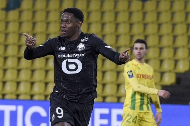 Jonathan David (ex-Gent) loodst Lille voorbij de voorlaatste met twee doelpunten