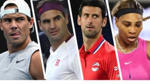 Fab Four op recordjacht: wat staat er in 2021 op het spel voor Novak Djokovic, Rafael Nadal, Roger Federer en Serena Williams?