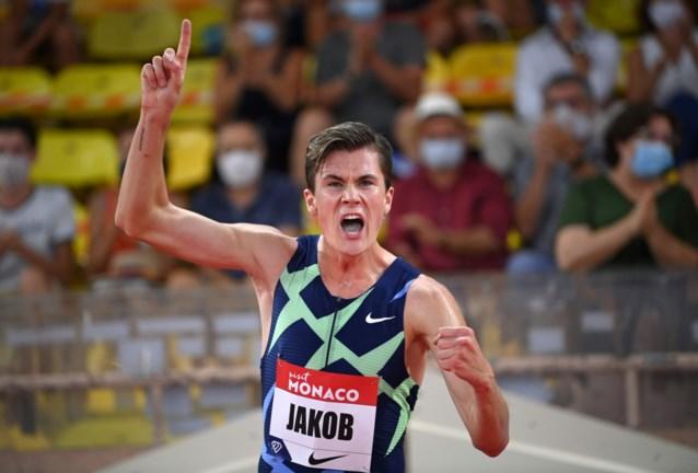 Jakob Ingebrigtsen verpulvert Europees record op 1.500 meter, dat al 22 jaar stond