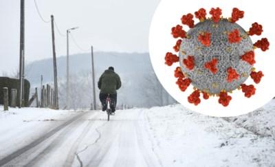 Nog een hele week barre vriestemperaturen: is dat nu goed of slecht voor de verspreiding van het coronavirus?