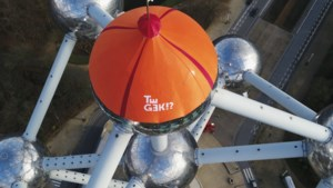 Gigantische muts op Atomium symboliseert nieuwe stap voor Te Gek!?