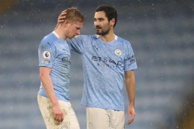 Blessure Kevin De Bruyne toch iets ernstiger dan verwacht: Manchester City moet hem vier tot zes weken missen