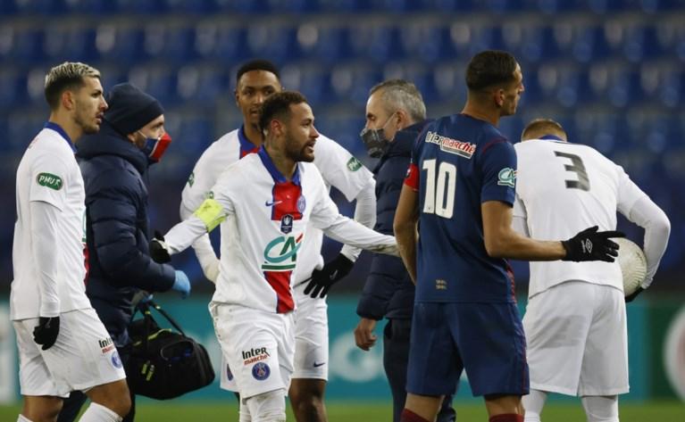 Neymar stapt na reeks overtredingen zelf boos van het veld, clash tegen Barcelona in gevaar