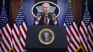 """Biden belt voor het eerst met Chinese president, nadat hij zei """"nooit te zullen twijfel geweld te gebruiken"""" tegen China"""