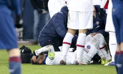 Pech voor PSG: Neymar is wekenlang buiten strijd en mist clash tegen Barcelona