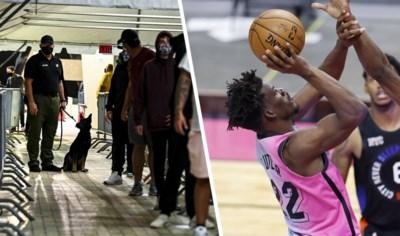 """NBA-team Miami Heat zet honden in om fans op corona te controleren, binnenkort ook in het Belgisch voetbal? """"Honderd keer sneller"""""""