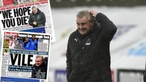 In Engeland zijn ze het zat: ook Newcastle-trainer Steve Bruce krijgt doodsbedreigingen (van eigen fans!)