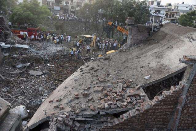 16 doden en 32 gewonden na explosie in vuurwerkfabriek in India